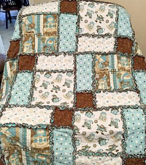 Simple Diy Rag Quilt A Sewing Project For Beginners Hometalk