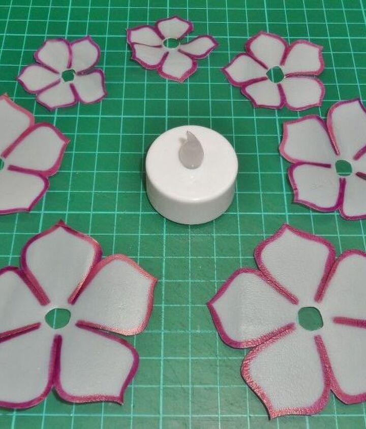 welding plastics led flower