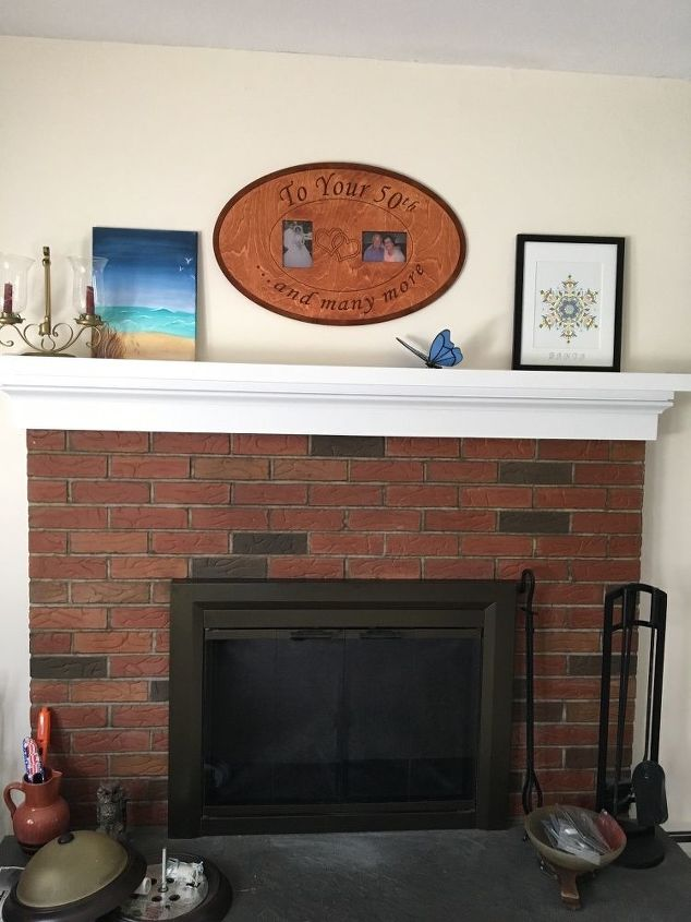 q i want to update my fireplace what can i do to it