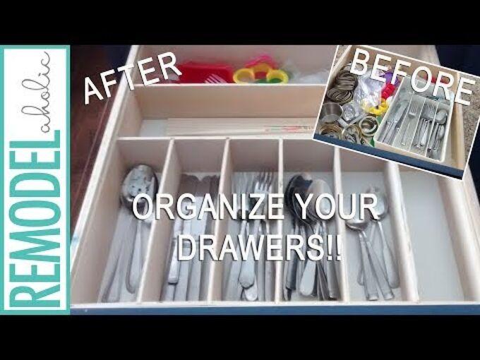 diy custom drawer divider and organizer