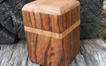 handmade ring box