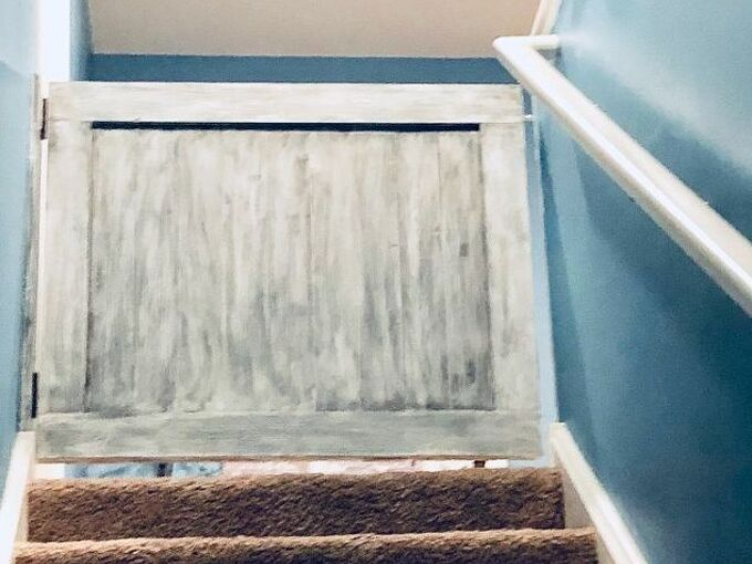 cheap and easy upstairs entry gate