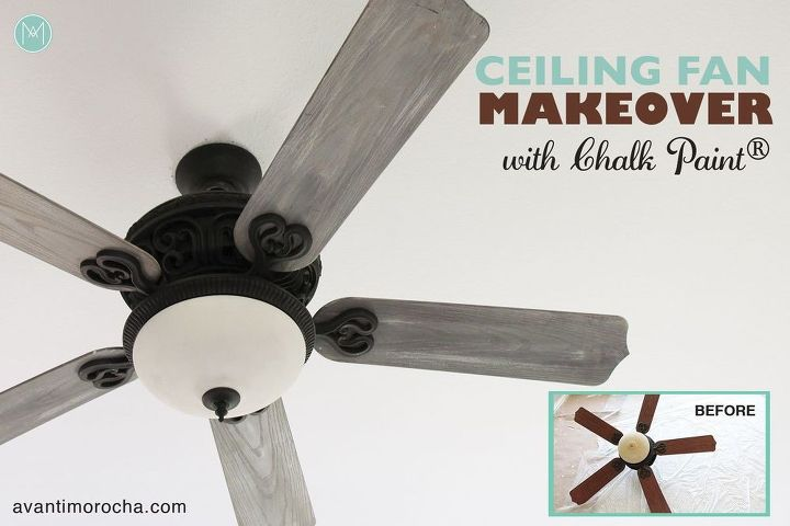 Diy ceiling fan makeover farmhouse style hometalk diy ceiling fan makeover farmhouse style aloadofball Image collections