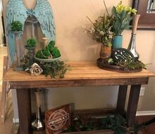 farmhouse entry table