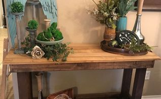 farmhouse entry table