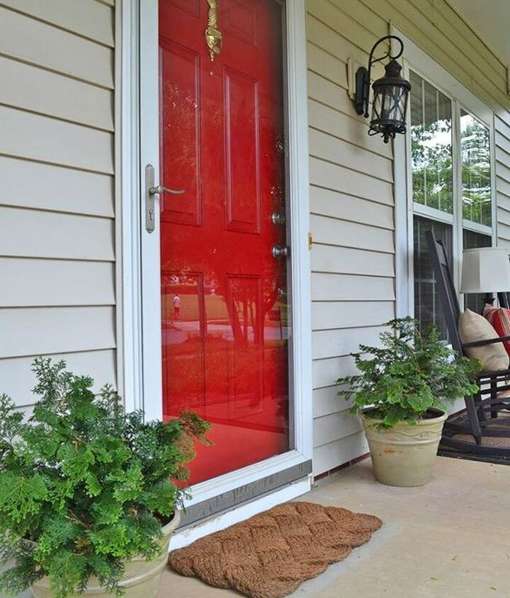 paint a front door refresh for spring