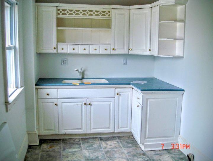 last part of kitchen renovation