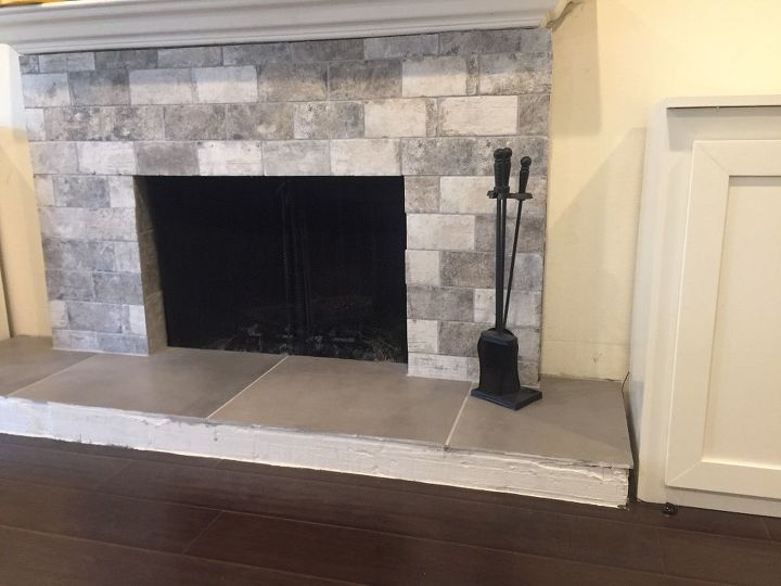 q help edging trim for fireplace heart