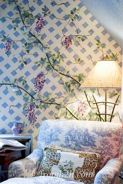 s 15 unbelievable ways people paint their walls, They create a stunning faux trellis