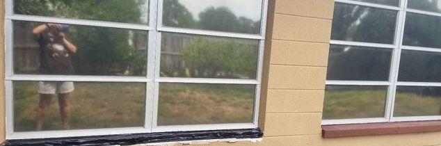 q how to repair concrete window ledge
