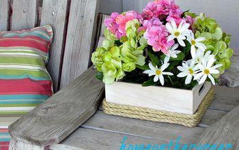 Simple Spring Flower Box