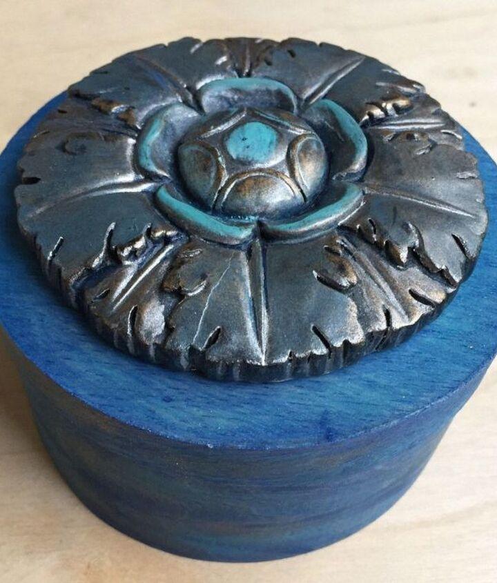 Blue Bayou Button Box
