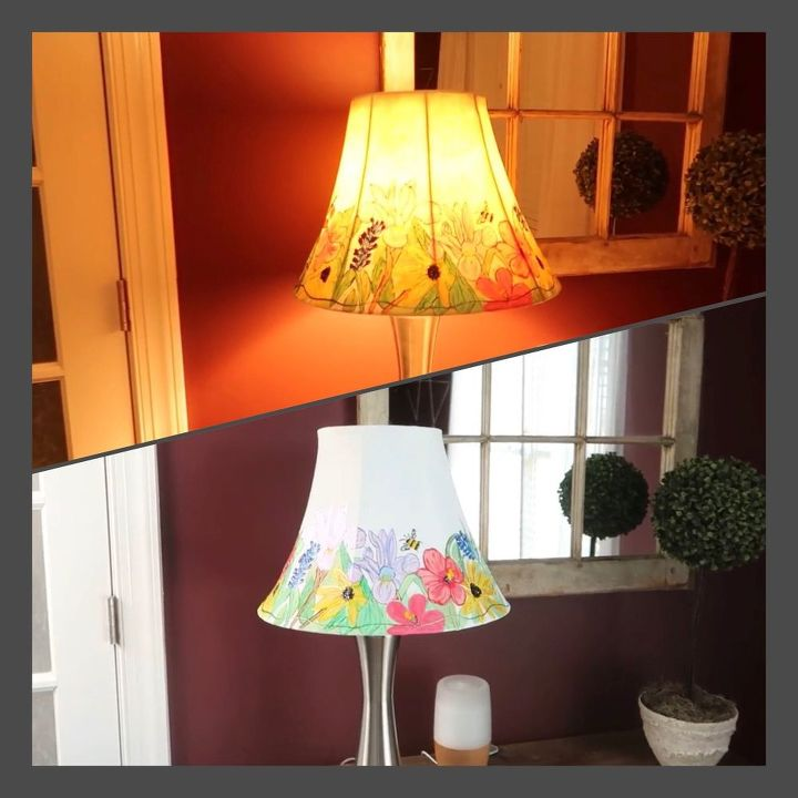 anthropology inspired lampshade