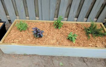 Build Two Raised Herb Gardens for Less Than $50