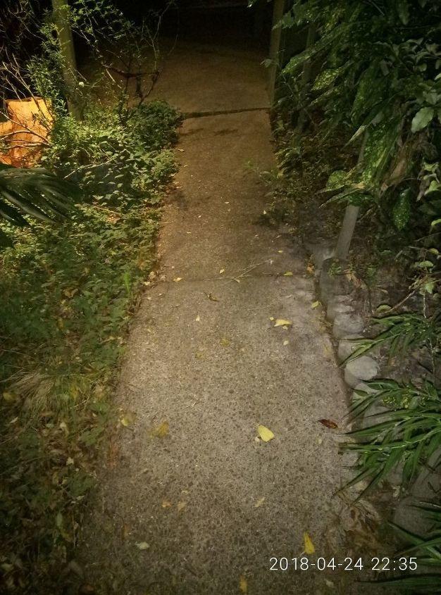 q concrete path