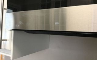 q scratches on a smudge proof stainless steel appliance