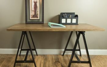 Easy Faux Reclaimed Wood Tabletop