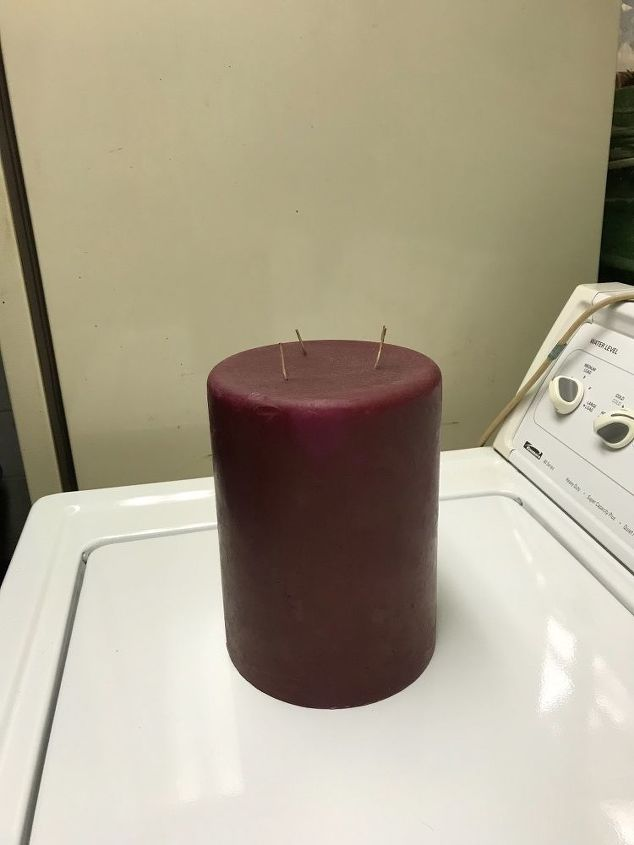 q what can i do with an ugly 3 wick candle