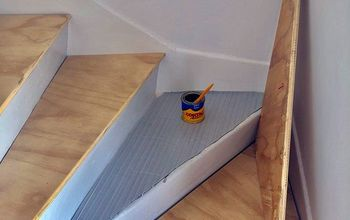 give a tired staircase a budget friendly refresh