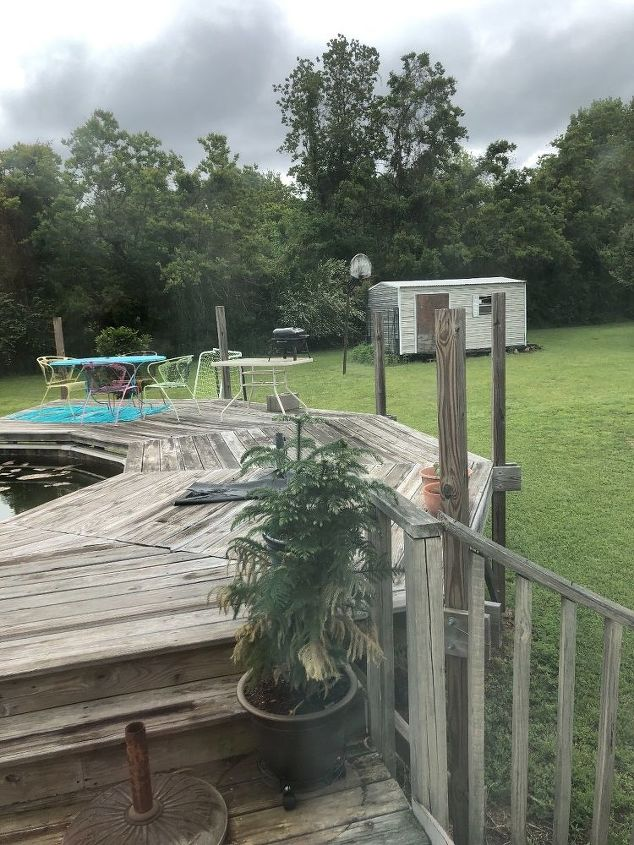 q i want to make railing for my deck must be inexpensive and very easy