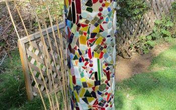 Mosaic Water Filter Totem Pole