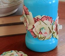make a fancy candy jar for mother s day