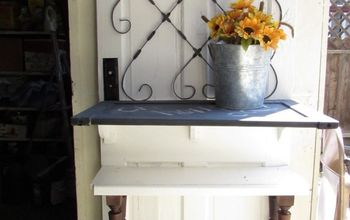 Upcycle an Old Door Into a Drink Station