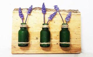 diy farmhouse etched mini vase decor