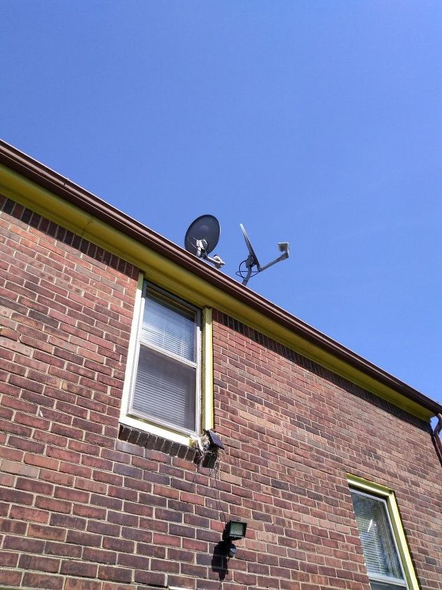 q how to stop birds from building a nest behind my solar panel