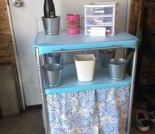 updating an old kitchen cart