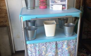 updating an old kitchen cart