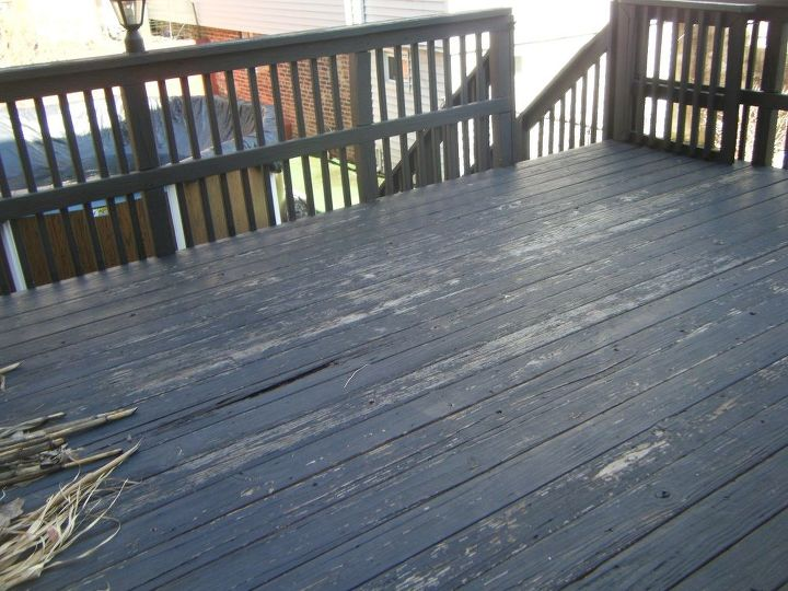 Q Ceramic Tile Over Existing Wood Deck