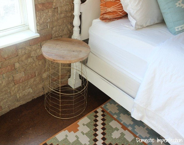 s 15 unconventional ways to use a tomato cage, Repurpose it into a bedside table