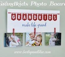grandkids photo board