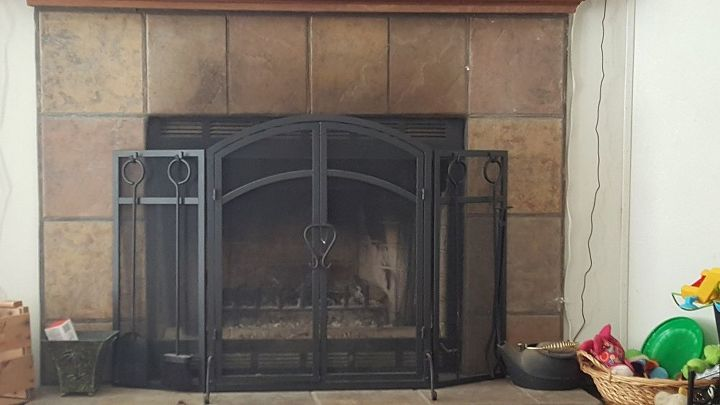 q refacing my fireplace