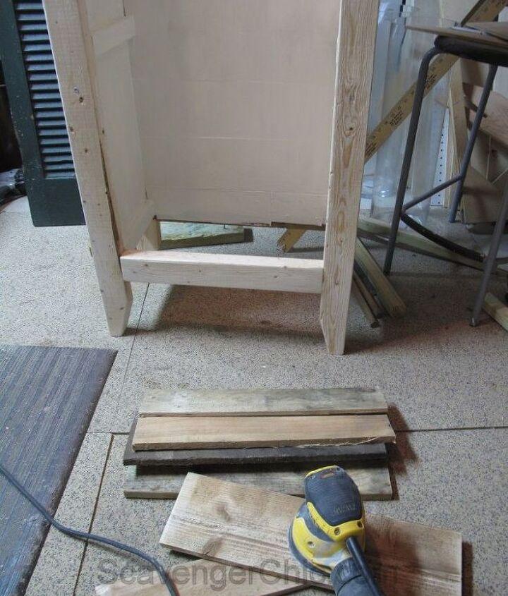 shutter cabinet made from scratch