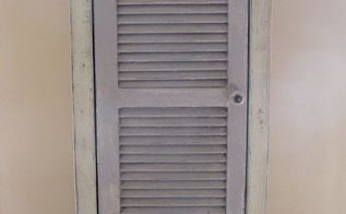 shutter cabinet made from scratch