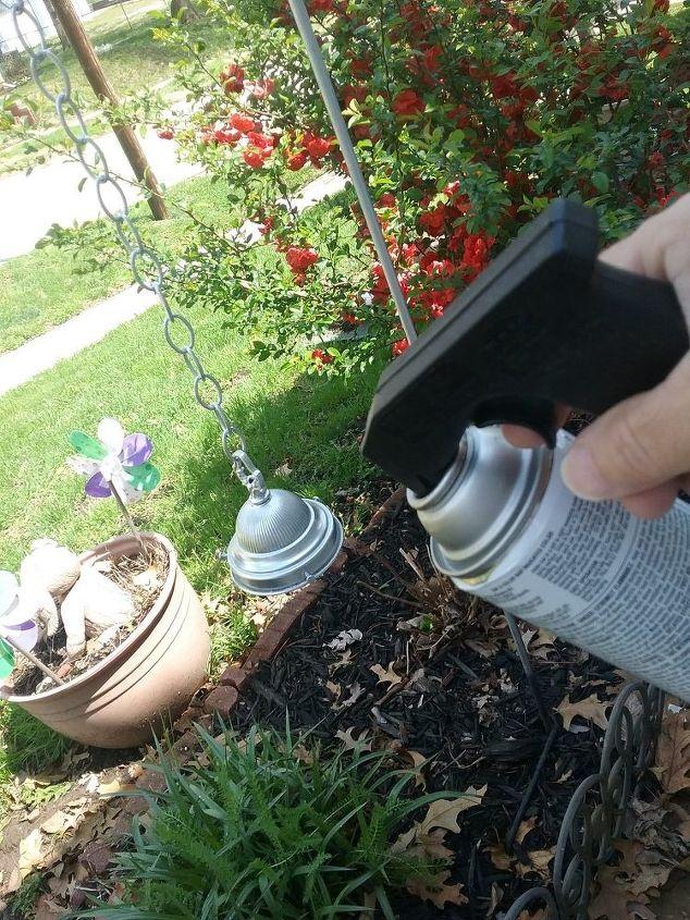 battery operated yard light