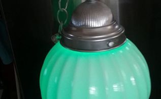 battery operated yard light, Green for St Patrick s day