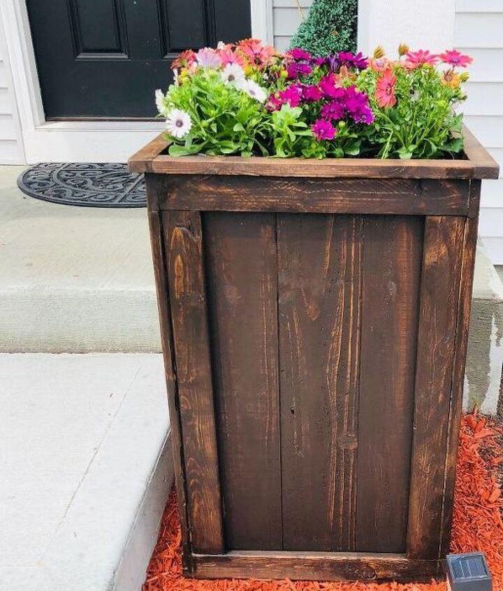 easy flower planter