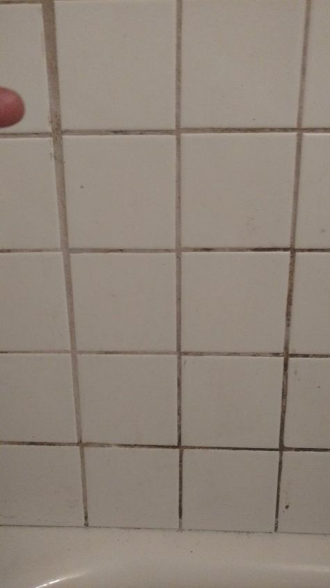 q is there a way to remove mold from grout