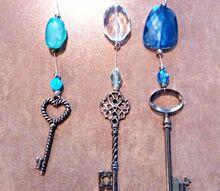 capiz shell and bead ornamental hanging