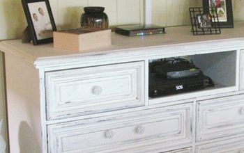 icky old dresser transformed diy media console