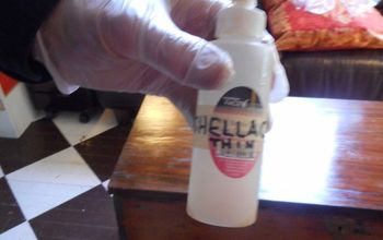 how to apply a shellac finish