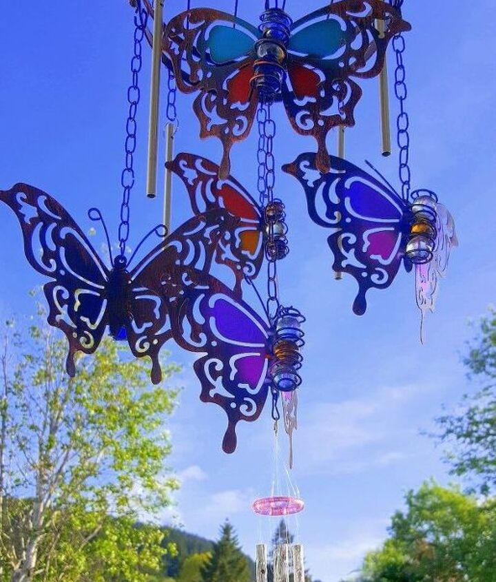 diy butterfly wind chime for mother s day