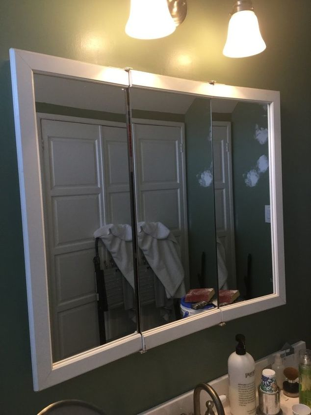 How To Make This Medicine Cabinet Into New Look For Farmhouse Bathroom Hometalk