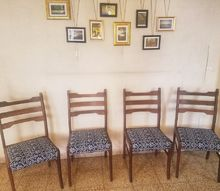 dining room chairs makeover
