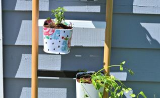 diy herb garden ladder planter