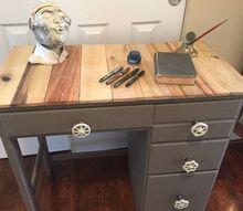 making a desk more pallatable