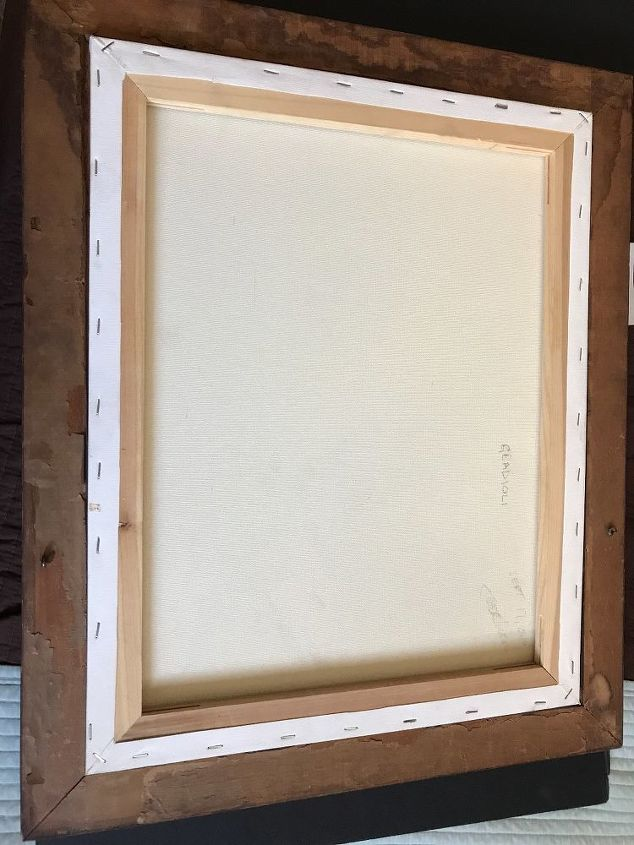 q how to frame my painting into a frame